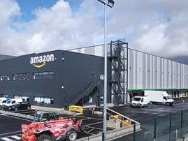 Nave logística Amazon