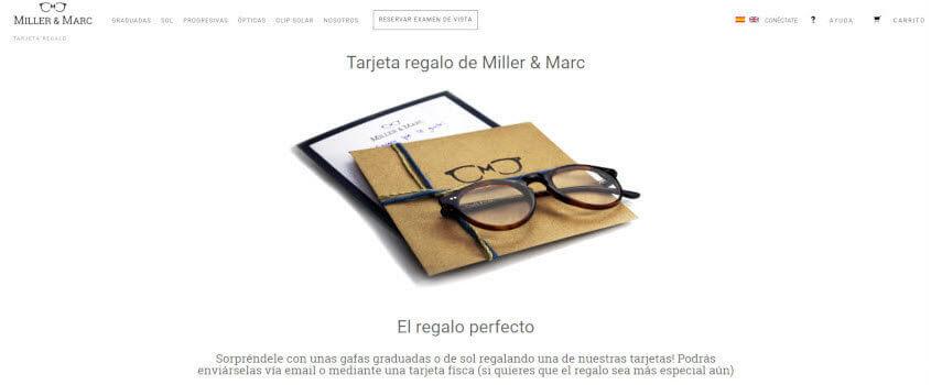 Miller & Marc tarjeta regalo